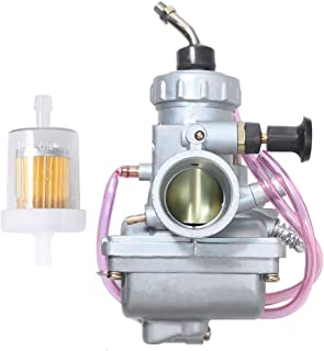 Carburetor For Suzuki LT250E LT250EF Quadrunner 250 1985 1986 1987 Replacement ATV Carb w/Fuel Filter