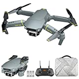 GoolRC GD89 MAX GPS Drone with 6K HD Camera for Adults, RC Quadcopter with 90° Adjustable Gimbal, Obstacle Sensing, Fixed-Point Surround, Headless Mode, Auto Return Home, Bag and 3 Batteries