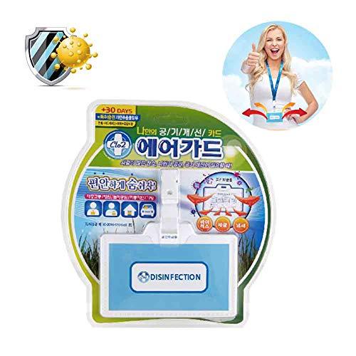 Woniu Sterilisatiekaart, luchtreiniger met draagbaar desinfectiemiddel antibacteriële riem gadgets voor thuis school voorkomen bedrijf