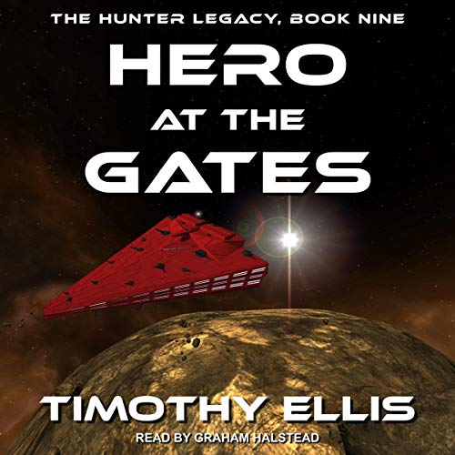 Hero at the Gates audiobook cover art