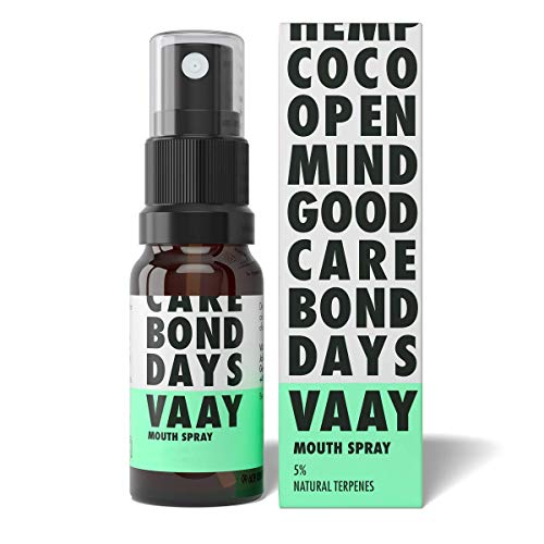 VAAY Mouth Spray 5% – With Natural Ingredients, Vegan – For Oral Cavity Care – 10 ml