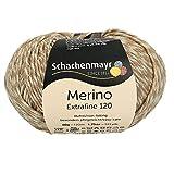 Schachenmayr Hilos para Tejer A Mano Merino Extrafine 120, 50G Sand