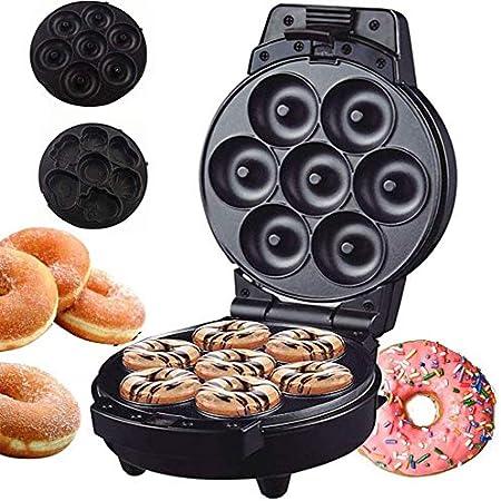 Mini beignes, machine d'appareils électroménagers à Mold Petit Donuts En utilisant Batter, chocolat Mix-Cuire, baie vitrée, et plus Saveurs