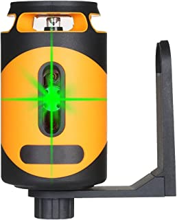 RYSF 緑色レーザービームレーザーレベル水平垂直クロスラインセルフレベラー充電式レベルメーターオートレベリングスピリットレベル