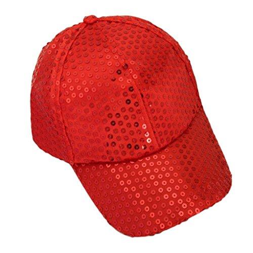 Xinantime Sombrero, Lentejuela Gorra De Beisbol Paño