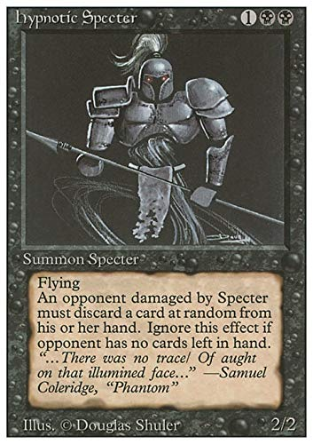 Magic: the Gathering - Hypnotic Specter - Revised Edition