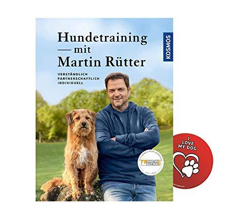 KOSMOS Hundetraining mit Martin Rütter + Hunde Sticker, Hunde-Erziehung