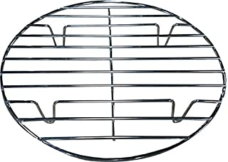 Bioexcel Round Chrome Plated 12.5 Inch/32 Cm Steamer Rack For Cooking - Choose Sizes 8 Inch To 20 Inch