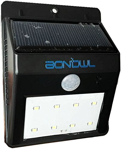 BANGWEIER 8 LED ソーラーライト 玄関ライト 太陽発電 省エネ 夜間自動点灯 軒先/庭/ガーデン/庭先/玄関周りなど対応