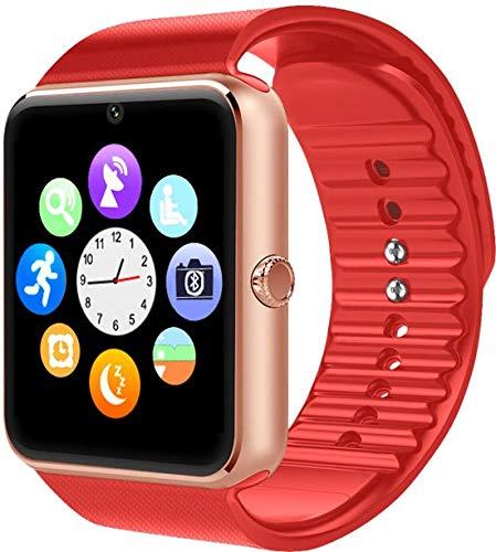 SmartWatch-Trends GT08 - Smartwatch - Rood/Roze