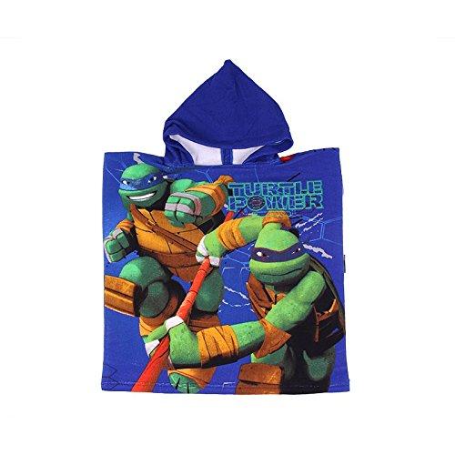 Poncho de bain à capuche Tortues Ninja -820-829