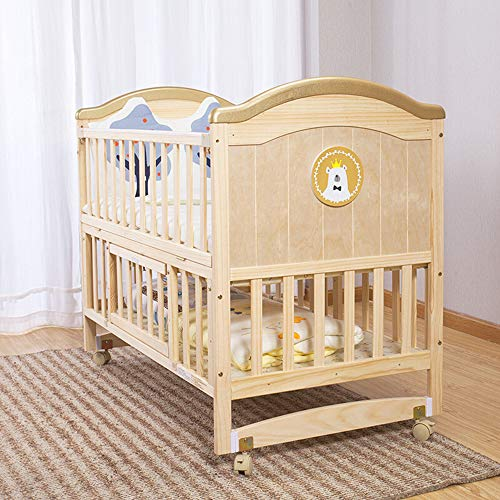 Why Should You Buy Dzhyy Crib Multi-Function Newborn Bed Game Bed Stitching Children's Bed,Package 1,12367cm