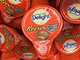 International Delights Reese's Peanut Butter Cup Liquid Coffee Creamer Singles - 50 Count PEANUT BUTTER AND CHOCOLATE IN YOUR COFFEE!