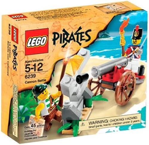el estilo clásico LEGO Pirates Cannon Battle (6239) (6239) (6239) by LEGO  alta calidad
