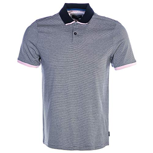 Ted Baker Caffine Polo Shirt in Navy