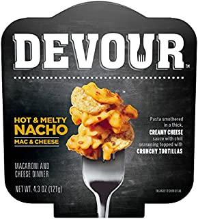 Devour Hot & Melty Nacho Mac & Cheese (4.3 oz Box)