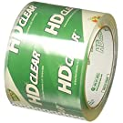 Duck Brand HD Clear High Performance Packing Tape, 3-Inch x 54.6-Yard Roll, Crystal Clear, 6 Rolls (307352)