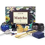Matcha Whisk, Matcha Set of 9 Durable Handmade Bamboo Matcha Whisk and Bowl Set for Matcha Tea, Easy to Use and Clean Matcha Kit for Green Tea