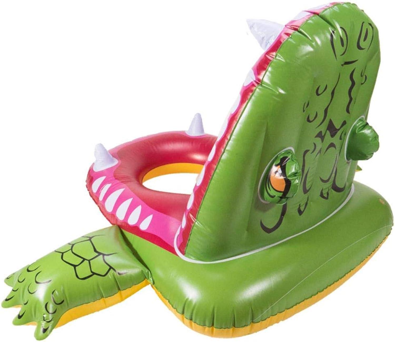 HAHAJY Aufblasbare Haifischliege schwimmende Insel Wasserspielzeug Klappschwimmbett Farbhalterung, 1