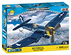 Compatible with leading brands. A special stand is included to enhance the model's exposure and aircraft name plat. Illustrated manual included in each set. Complies with all international testing standards including EN71 and ASTM. 270 bricks, 1 figu...