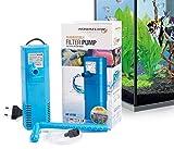 Aquaflow Technology® AIF-611M - Pompe de filtre pour aquarium submersible pour eau fraîche et eau salée. Pour réservoirs d'aquarium jusqu'à 100 litres. 450L/H 6W