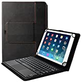 Eoso TouchPad Keyboard case for 9', 10',10.1',10.5' Tablets,2-in-1 Bluetooth...