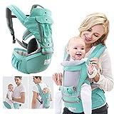360 Porte-bébé nouveau-né à bambin 4 en 1 souple tout transporter avec le siège...
