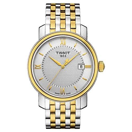 Tissot Herren-Uhren Analog Quarz One Size Gold/Silber/Bicolor Edelstahl 32003411
