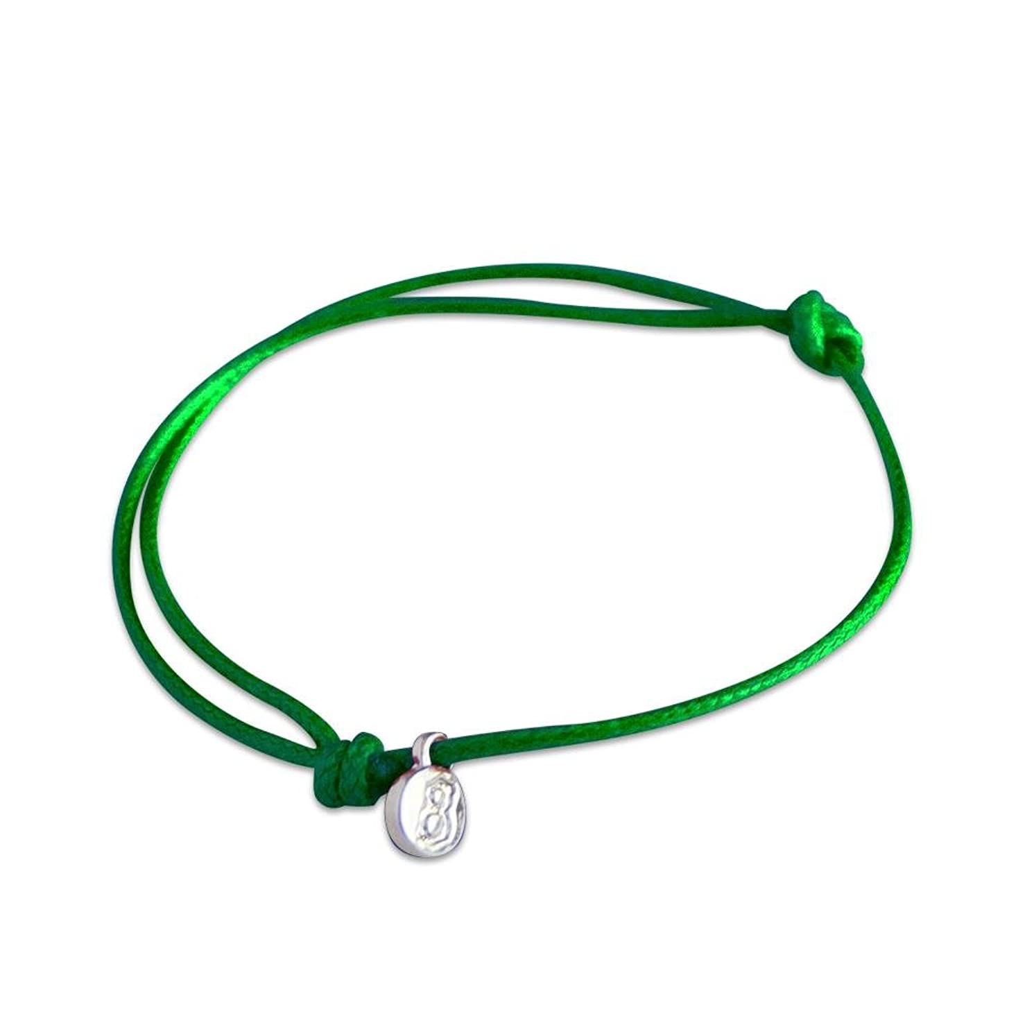 st8te - Adjustable Men's and Women's Rope Anklet. Adjustable Waterproof Anklet or XL Bracelet Available in Various Colors & Finishes