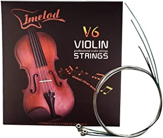 Imelod Violin strings Universal 2 Set (G-D-A-E) violin Fiddle String Strings Steel Core Nickel-silver Wound with Nickel-pl...