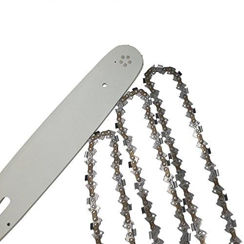 Set 3 Stück Profi C Sägeketten 325-1.5-64 +Führungsschiene -Schwert Typ 01 38cm
