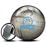 Brunswick Fanatic BTU - Bolas de Perlas para Bolos, Color Plateado, 14 LB