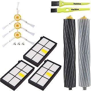 para Robot Aspirador S9 + 9150 12in1 ABClife Kit de Accesorios Compatible con iRobot Roomba Recambios Roomba Series S9 Serie 9550