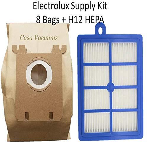 EL7062A Oxygen S-Bag 18 Vacuum Bags for Electrolux EL4200A Maximus S-Bag