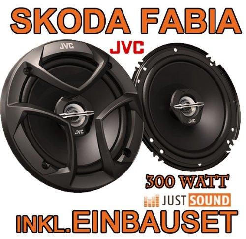 Lautsprecher - JVC CS-J620-16cm Koaxe für Skoda Fabia 1+2 - JUST SOUND best choice for caraudio