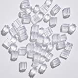 Clear Earring Backs, 500PCS Earring Stoppers Sold by KASBEE, Hypo-allergenic Jewelry Acces...