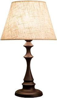 JEONSWOD Table Chambre Lampe De Chevet Lampe De Salon Américain Moderne Nordique Chaud De La Mode Minimaliste Pied De Lamp...