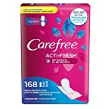 Carefree Acti-Fresh Freedom Fit Panty Liners,...