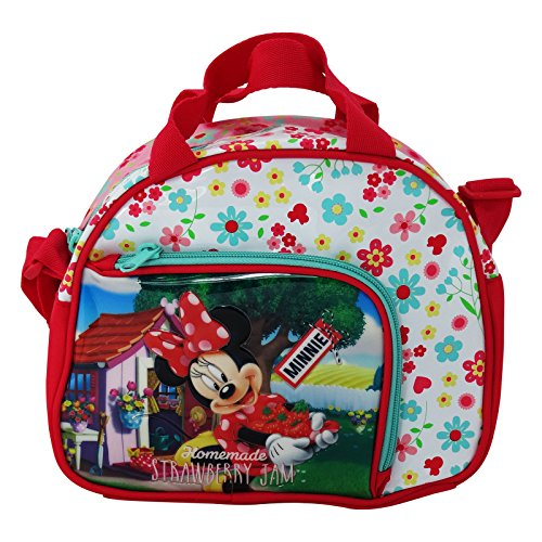 Disney Minnie Strawberry Sac à Dos Enfants Sac à Dos Loisirs Sac à bandoulière Lunch Box