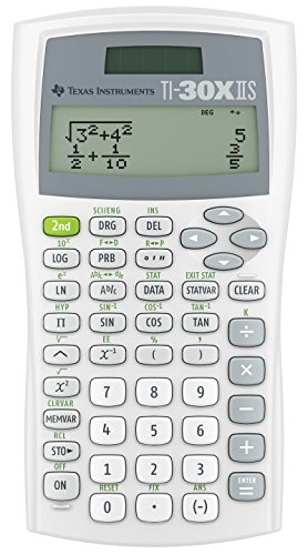 Compare Textbook Prices for Texas Instruments TI30XIISWHITE 2-Line Scientific Calculator 3-Pack  ISBN 5869582868140 by