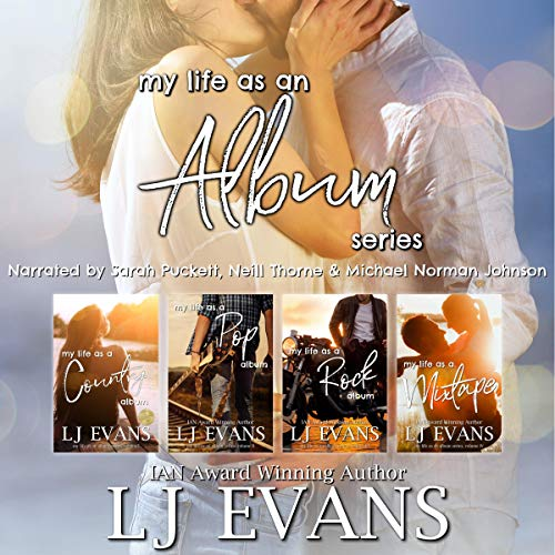 My Life as an Album (Books 1-4) Audiobook By LJ Evans cover art