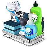 Kitchen Sink Caddy Sponge Holder: Rust Proof Kitchen Sink Organizer...