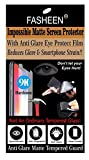 FASHEEN HONOR HOLLY 3 MATTE Tempered Glass Screen Protector, Anti Glare Eye Care, Flexible, Shatterproof, MATTE Impossible Screen Guard for HONOR HOLLY 3