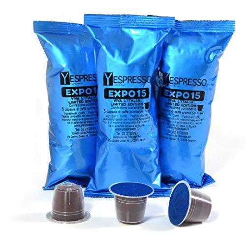 Yespresso Capsule Nespresso Compatibili Expo15 - Confezione da 50 Pezzi