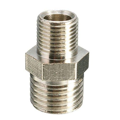 1/4 BSP naar 1/8 Inch BSP Mannelijke Airbrush Connector Airbrush Slangadapter Machinery Onderdelen