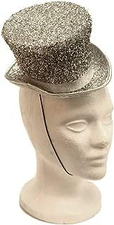 Arsimus Mardi Gras St. Patrick's Day Leprechaun Mini Party Hat (Silver)