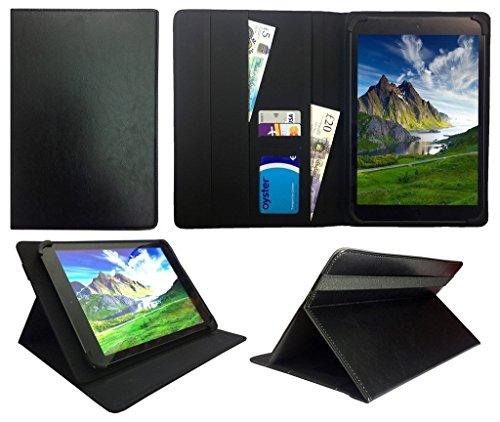 Fonxa 10.1 Inch Quad Core Tablet Nero Universale Rotazione PU Pelle Custodia Case Cover ( 10 - 11 Pollici ) di Sweet Tech
