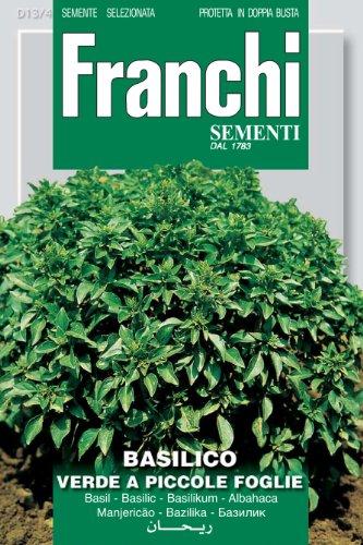 FRANCHI SEMENTI Spa Basilico Verde a Piccole Foglie