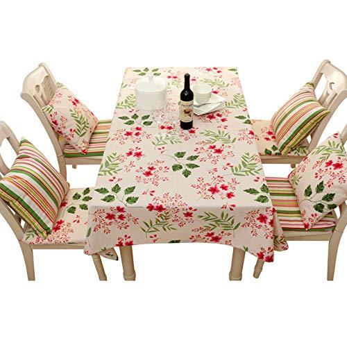 Dthlay tafelkleed, tuintafel, landelijke bloemendruk-zeildoek-uitgangsweefselservet