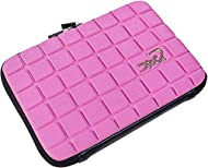 Navitech Pink Premium Travel Hard Carry Case Cover Sleeve Compatible With The VTech Pink Secret Safe...